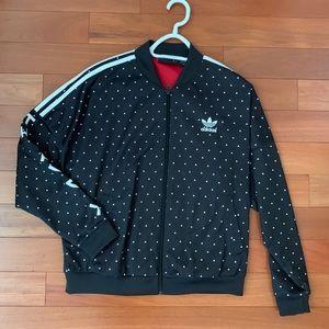 Adidas women's track jacket size small